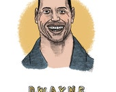 Dwayne Johnson Print...