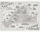 Martha's Vineyard Map...