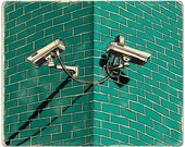 Security Cameras Print...