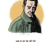 Mickey Rourke Print...