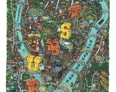 Pittsburgh Map