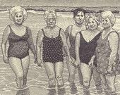 Old Ladies at the Beach P...