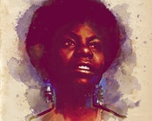 Nina Simone Print