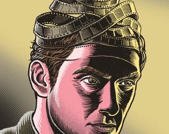 Jude Law Print