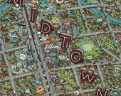 Phoenix Midtown Map...