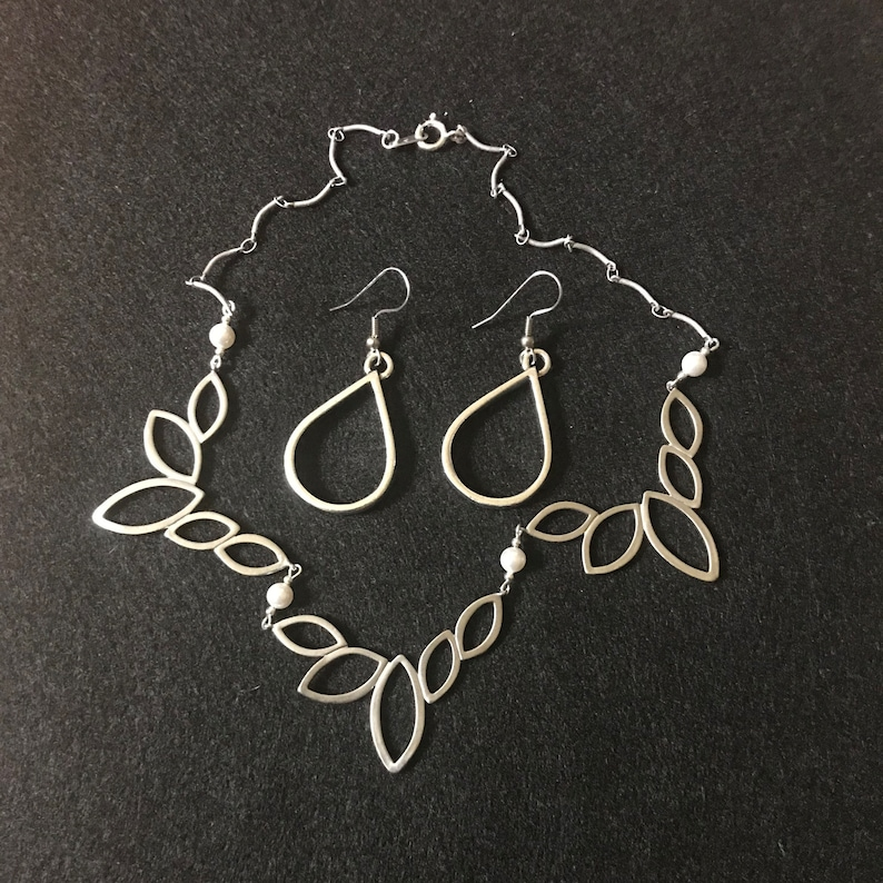 Matte Marquis Necklaces and Earrings Free Shipping