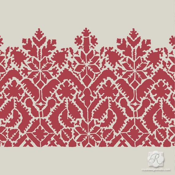 Moroccan Lace Craft Stencils For Painting Craft Projects Diy Fabric Bohemian Furniture Design
