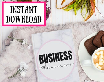Small Business Direct Sales Planner MLM Printable Digital Download   Instant Download   business marketing planner