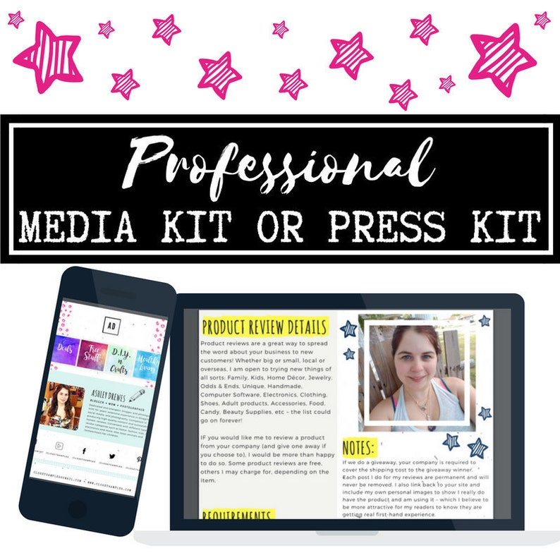 I will design professional media kit press kit Advertiser image 0
