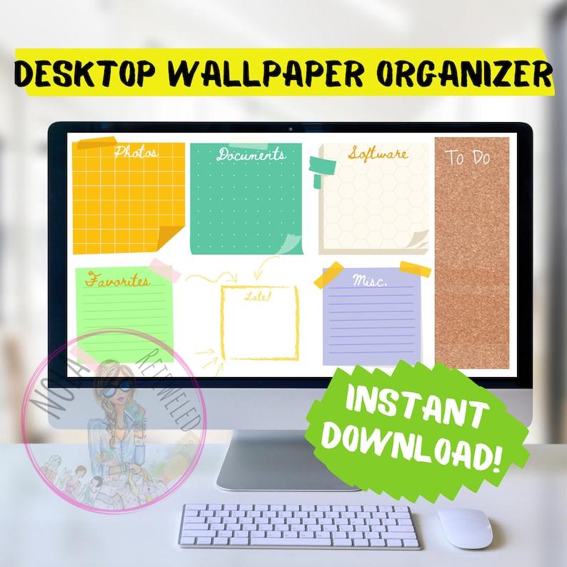 White Board Desktop Organizer Wallpaper Desktop Blogger image 0