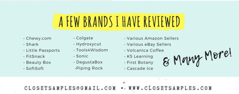I will post your article to my Blog Closet of Free Samples | Guest Posting  | Article Posting | Article Submit | Influencer | Blogger | PR
