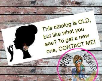 Old Brochure Labels for your Origami Owl   Paparazzi   Jewelry   Business   Direct Sales   Consultant