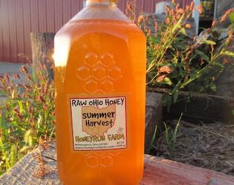 Raw Honey - Ohio Summer Harvest - 5 lb. jug