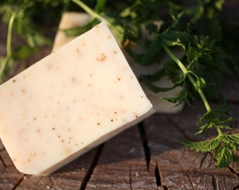 Refreshing Mint Soap - made with honey and beeswax