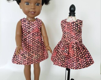 14 inch Doll Dress for Wellie Wisher