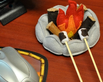 Miniature Campfire for Desk, Home or Play