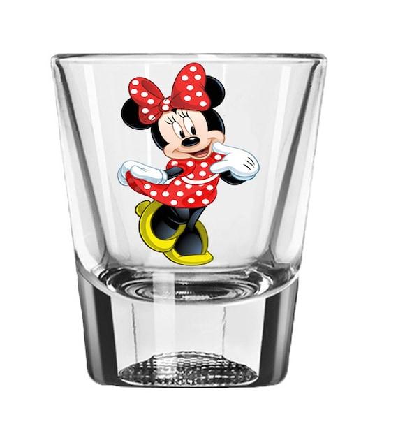 Minnie Mouse Schnapsglas Disney Hochzeitsbevorzugungen | Etsy