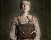 Norse Woman, Vikings, Norse Costume, Denmark, Art Photography - Not for Sale