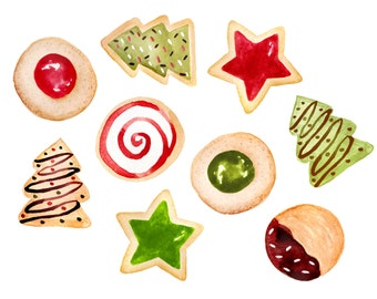 christmas cookies clipart cute graphics png gingerbread man rh etsy com christmas cookies clipart border christmas cookies clip art free