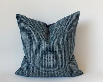 DOT HAND BLOCKED PILLOW 14 x 24 with