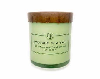 Avocado Sea Salt Soy Candle