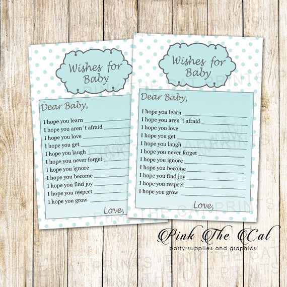 wishes for baby card new baby wishes card baby well wishes etsy