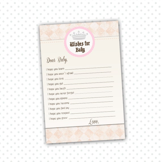 wishes for baby card new baby messages well wishes card etsy
