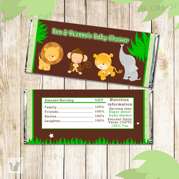 Baby Shower Candy Bar Label Baby Boy Shower Candy Wrapper Printable Candy Label INSTANT DOWNLOAD Polo Candy Bar Label