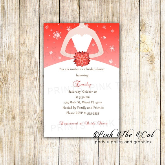On sale printable personalized winter bridal shower invitation etsy image 0 filmwisefo