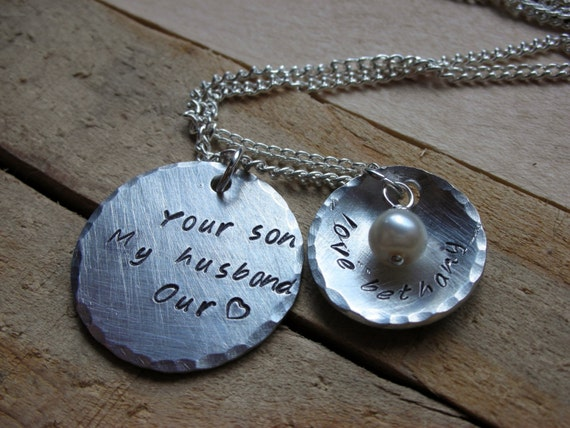 Necklace Mother In Law Gift Daughter In Law Gift Mothers Day Etsy