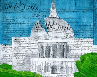 We the People Capitol Collage: Quarantine Series