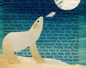Polar Bear Collage: Quarantine Series