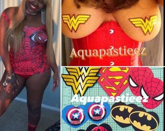 61793c0f4 Superhero Pasties