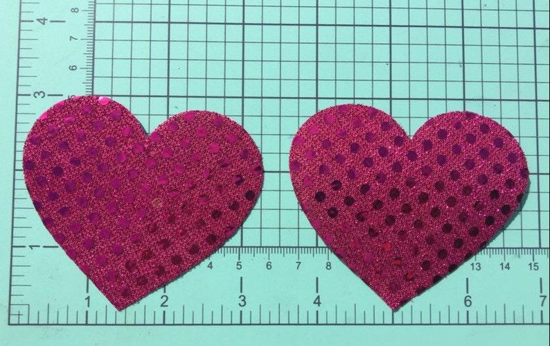Nipple Covers Boobie Stickers Heart Pasties
