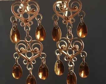 1940s chandelier etsy askel holmsen chandelier solje screwback earrings circa 1940s aloadofball Image collections