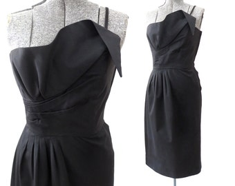 SALE - 80s Victor Costa Cocktail Dress, Size 4 -60% OFF