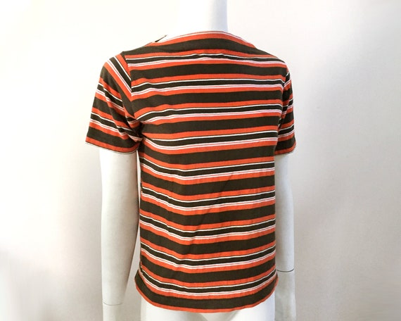 60s Ohrbach's Stripe Tee - M