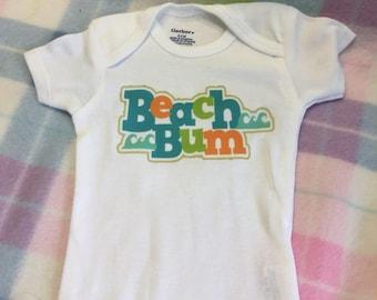 Beach Bum onesie