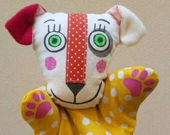 dog ... hand puppet