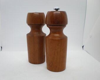 Pewter pepper salt shaker set Scandinavian tin salt pepper shaker set Swedish vintage pepper shaker Vintage Kitchen decor