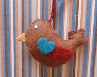 River Bird Ornament by Pepperland