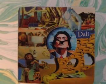 Salvador Dali Collage Trinket Box by Pepperland