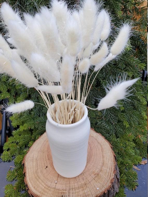 Pottery handmade vase in Soft White Modern Home Decor Wedding Gift Mothers Day