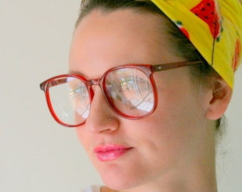 671912f55e Vintage JACKIE O Glasses..new old stock. classic. groovy. twiggy. mod.  retro glasses. librarian. secretary. woodstock. oversized