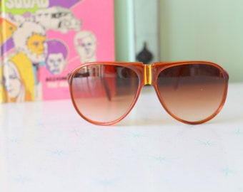 costume clubmaster groovy mens oversized unisex womens party Vintage Made in Italy SUNGLASSES..dapper retro hipster funky atomic