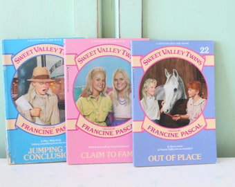 Sweet Valley Twins Etsy