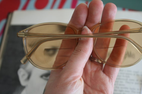 1970s TWIGGY Retro Sunglasses...designer. geometr… - image 3