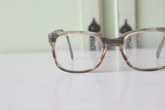 1950s 1960s Vintage DAPPER Glasses..vintage eyewea