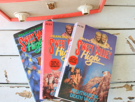 Vintage Sweet Valley Twins Book Set Of 3 Instant Etsy