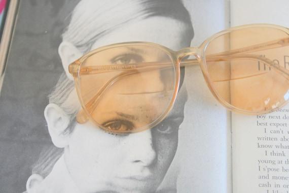 1970s TWIGGY Retro Sunglasses...designer. geometr… - image 1